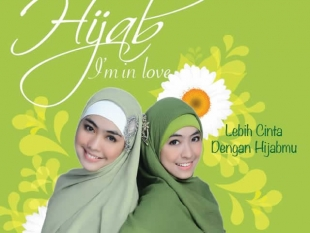Cuplikan Cover Buku Hijab I'm in Love