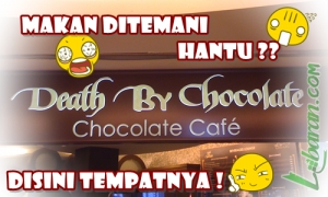 "Illustrasi Mau Makan Bersama ""Hantu"" Death By Chocolate & Spaghetti"