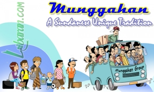 Illustation of Munggahan, Sundanese Unique Tradition to Welcome Ramadan